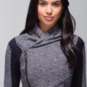 Lululemon Bhakti Yoga Jacket Coco Pique Size 4